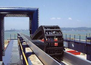 Xích dẫn cáp – Cable Chains – Ứng dụng trong thiết bị nghành cảng biển