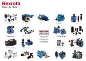 Bơm thủy lực, van thủy lực và các phụ tùng Bosch Rexroth